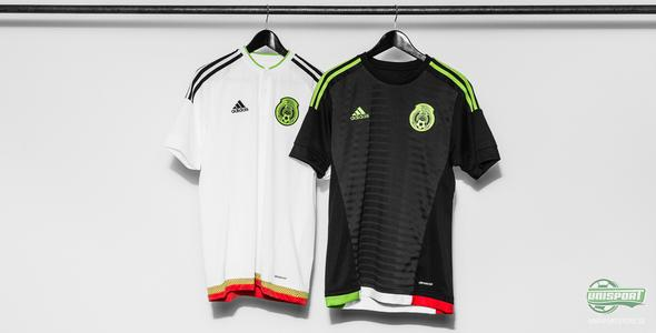 Adidas byter färg på Mexikos landslag