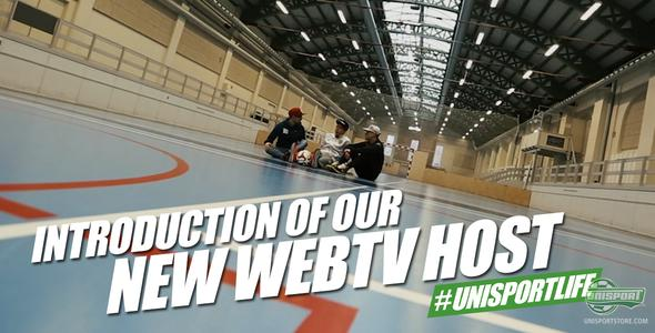 Unisport WebTV: Welcome to our new host - PWG lives the #unisportlife