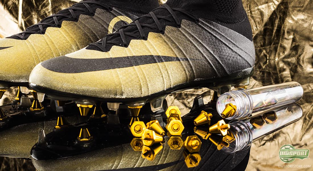 info for 9683e edeab Nike Mercurial CR7 Rare Gold Boot of the year