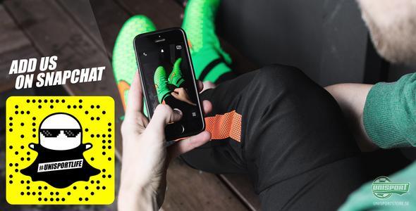 Bli en del av #unisportlife på Snapchat