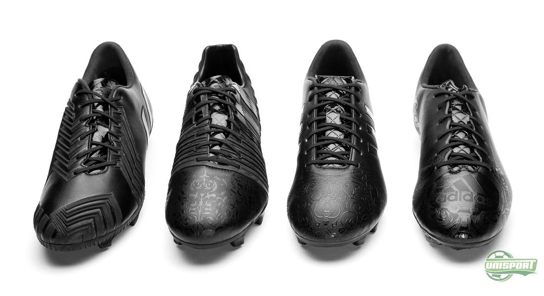 adidas voetbalschoenen zwart leer