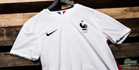 France get new away-shirt from Nike