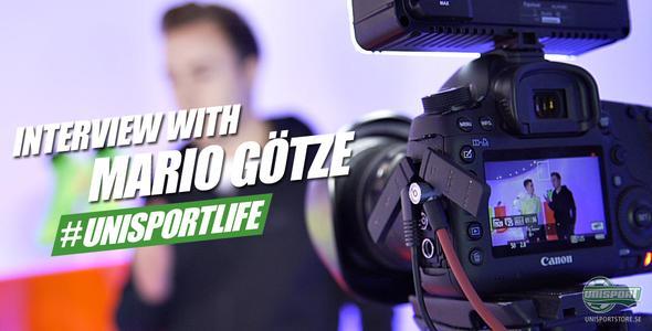 Unisport WebTV: Joltter träffar Mario Götze
