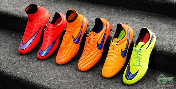 Nike turn up the temperature with the Intense Heat Pack