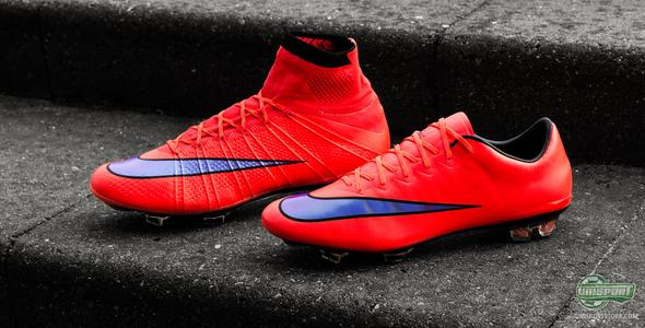 Nike bring back the red colour on the Mercurial Intense Heat Pack
