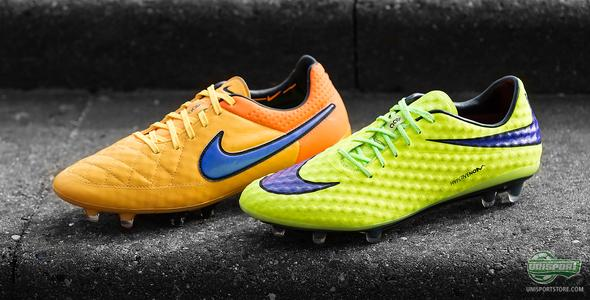 The Tiempo and Hypervenom bring the heat with the Intense Heat Pack