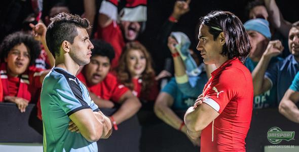 PUMA Head To Head: Falcao vs. Agüero