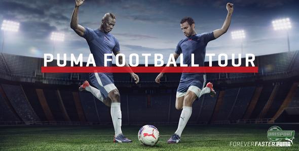 PUMA Football Tour X Unisport Fodboldshop event