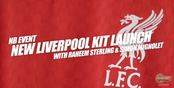 Unisport WebTV: NB Football lancerede Liverpools nye trøje på Anfield