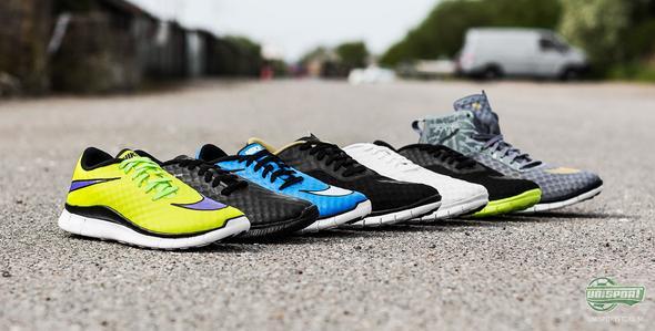 Nike Free Hypervenom - fotbollsinspirerade sneakers