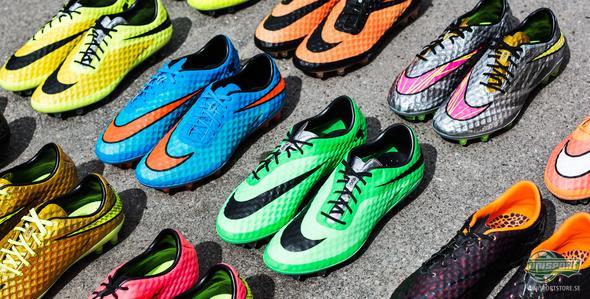 Två actionpackade år med Nike Hypervenom