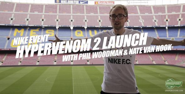 Unisport WebTV: Nike Hypervenom Phantom II event in Barcelona