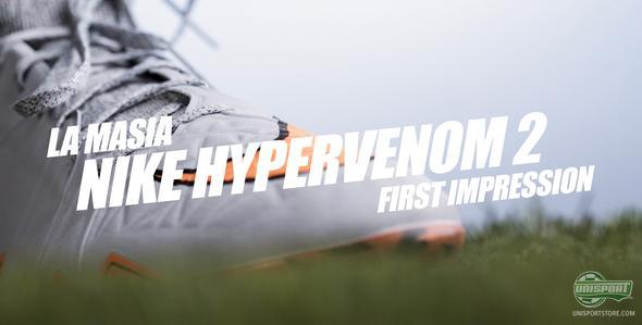Unisport WebTV: Jakob's first impressions of the Hypervenom Phantom II