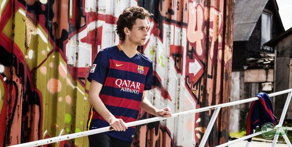 Barcelona byter lodrätt mot vågrätt