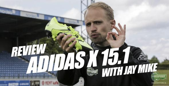 Unisport WebTV: adidas X 15.1 recension