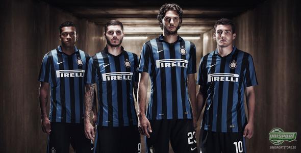 Nike och Inter presenterar klassisk hemmatröja