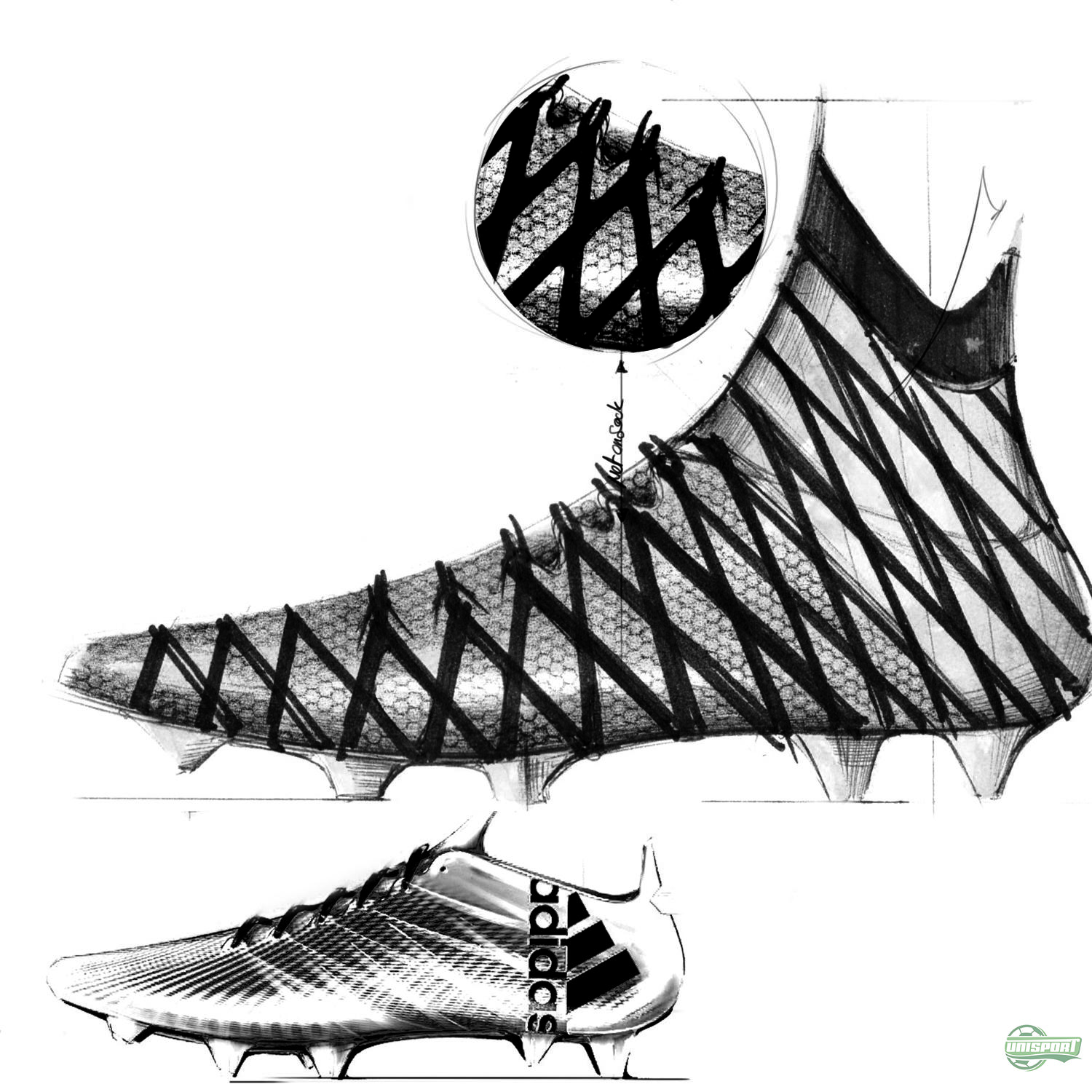The thoughts behind the adidas revolution: Football boots created for  modern football