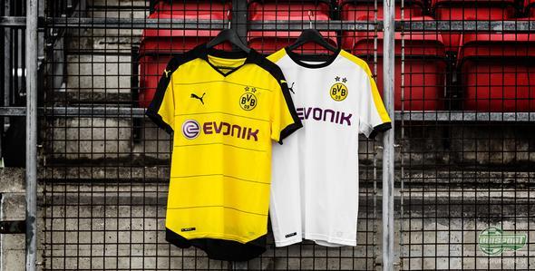 Puma rustar upp Borussia Dortmund med nya matchställ