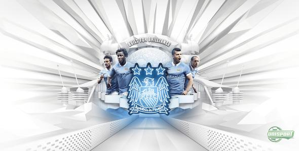 Manchester City ready to march on to glory with their new Nike home-shirt