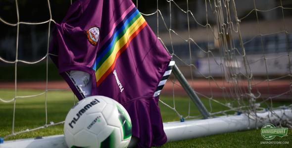 Hummel celebrate the LGBT movement with new rainbow inspired home shirt