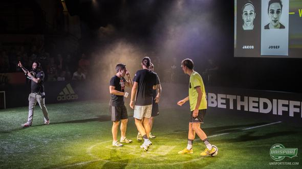 UnisportXadidas #BeTheDifference I Tricks and pannas with Ace and X