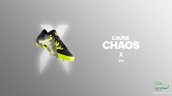 adidas present new X15.1 in a metallic colourway