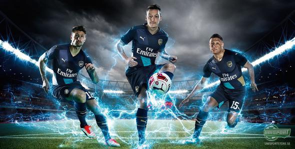 PUMA presenterar Arsenals nya tredjetröja