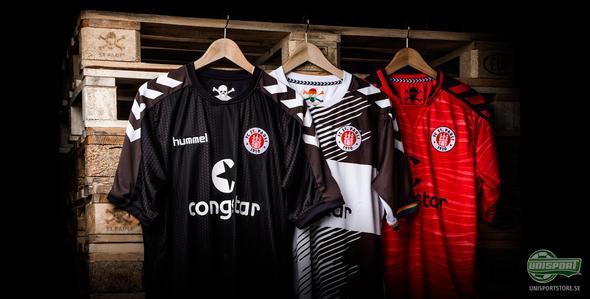 Hummel lanserar St. Paulis nya matchtröjor