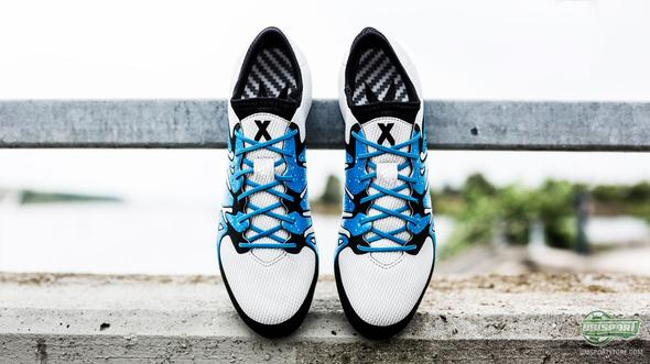 adidas get you ready to cause chaos with a new X15 White/Solar Blue/Core Black
