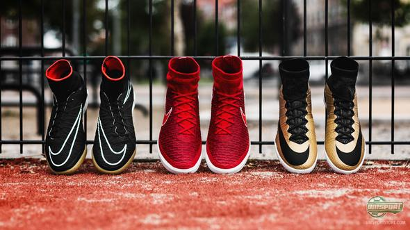 Take on the streets with the newest Nike FootballX Street shoes