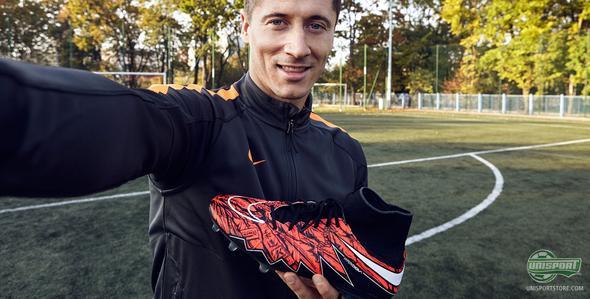 Nike pay tribute to the unstoppable Lewandowski with a personalised Hypervenom Phantom II
