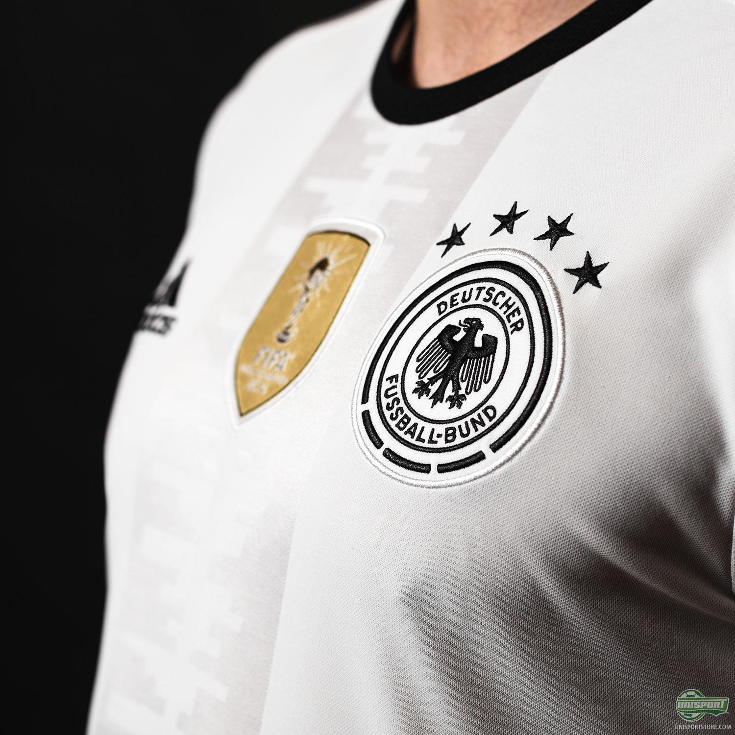 Adidas present the new Euro 2016 home-shirt for the German national team