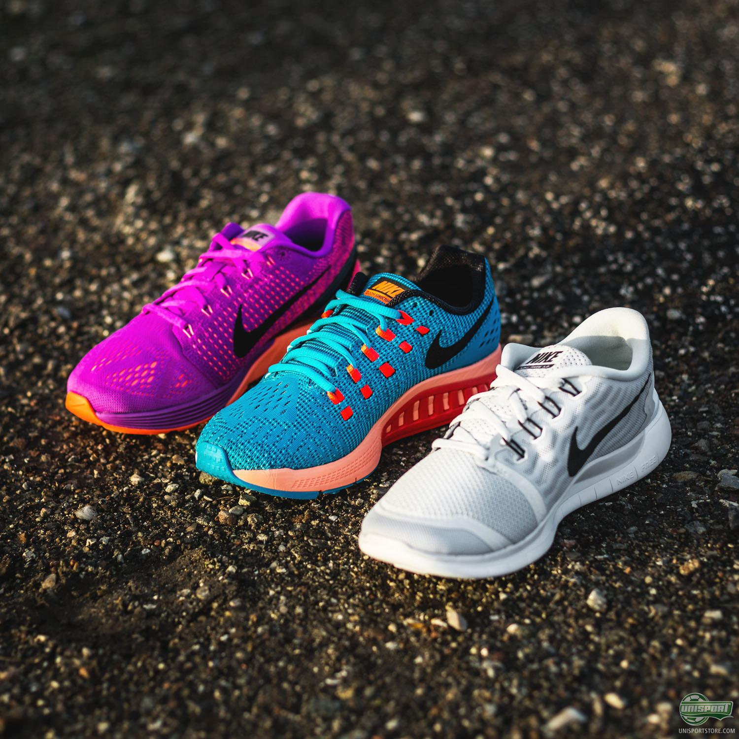 giày chạy bộ Nike LunarGlide & Structure