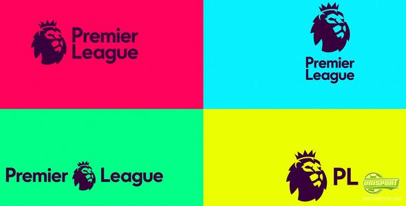 The Premier League unveils its new logo for the 2016/17 season