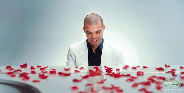 Pepe shows his soft side and love for the Umbro Speciali