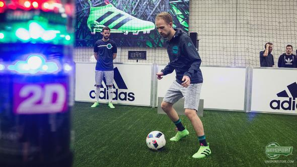 Unisport WebTV: Visiting adidas HQ and testing the PureControl