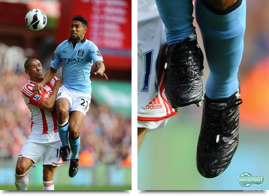 gael clichy, manchester city, umbro, stealth, pro