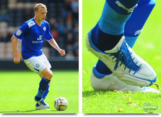 ritchie de laet, leicester city, adidas, adipure, 11pro