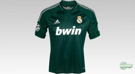 real madrid third shirt 2012 2013 ronaldo ozil benzema modric adidas champions league