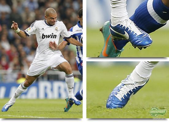 unisport, bootspot, boot spots, støvlespots, pepe, real madrid, nike tiempo legend iv