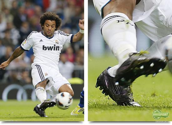unisport, bootspot, boot spots, støvlespots, marcelo, adidas f50 adizero, real madrid