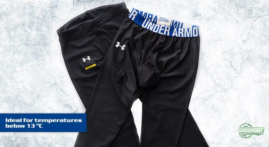 under armour, ua, coldgear, cold gear, baselayer, football, soccer, unisport, unisportstore