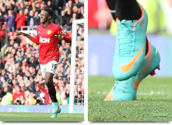 manchester united, danny welbeck, nike, mercurial vapor, acc, old trafford