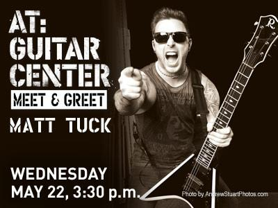 Matt Tuck Meet and Greet