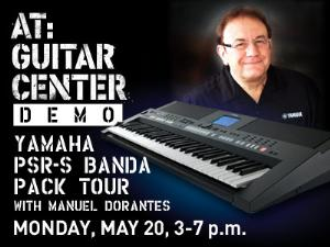 Yamaha Banda Pack Tour