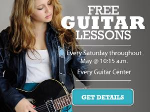Free Guitar Lessons At Guitar Center!