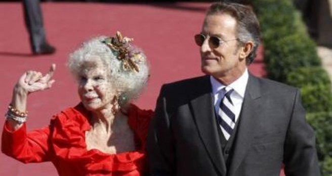 Maria del Rosario Cayetana Fitz-James-Stuart y Silva, har giftet seg med Alfonso Diez! thumbnail