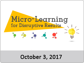 Microlearning oct 3 2017