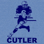 Jay Cutler In Action Shirt