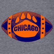 Chicago Bear Paw Football Shirt